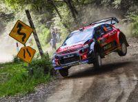 WRC Australia 2018 – Giorno 1: le due Citroën C3 WRC ai primi due posti !