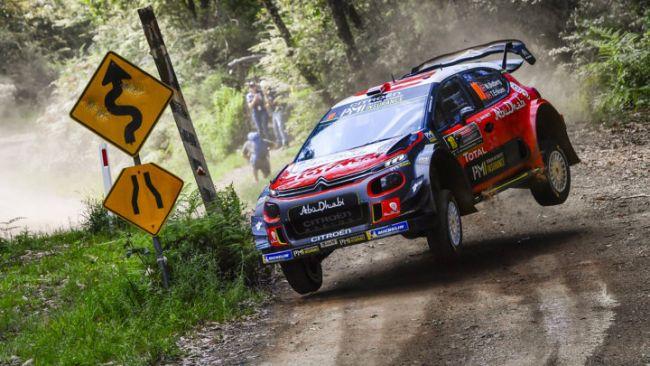 WRC Australia 2018 - Giorno 1: le due Citroën C3 WRC ai primi due posti !