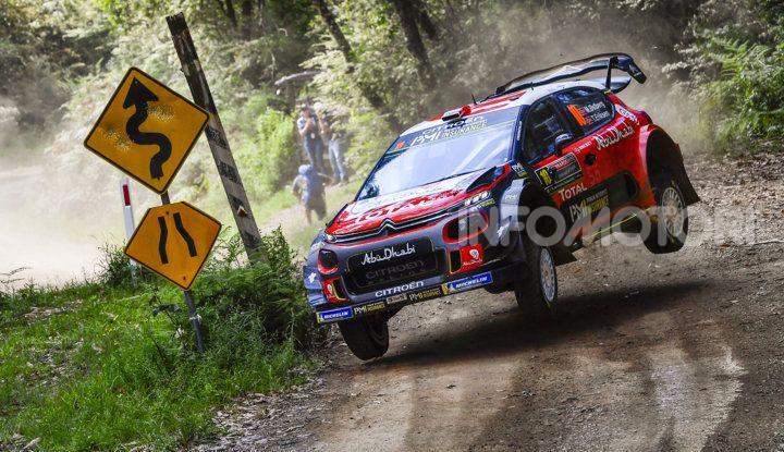 WRC Australia 2018 – Giorno 1: le due Citroën C3 WRC ai primi due posti ! - Foto  di