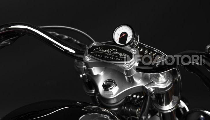 Charleston: la moto per i 70 anni della Citroen 2CV - Foto 13 di 36