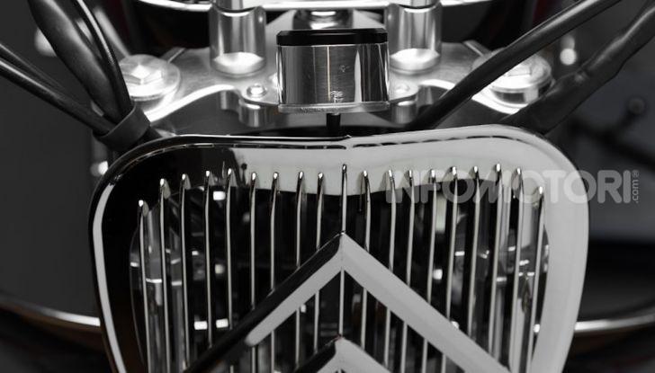 Charleston: la moto per i 70 anni della Citroen 2CV - Foto 20 di 36