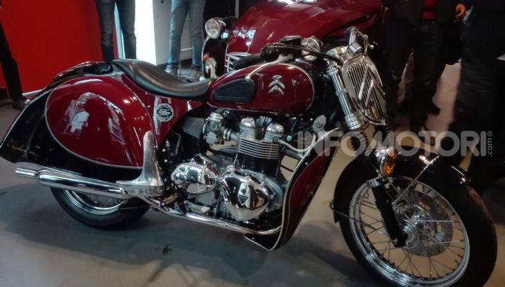 Charleston: la moto per i 70 anni della Citroen 2CV - Foto 25 di 36