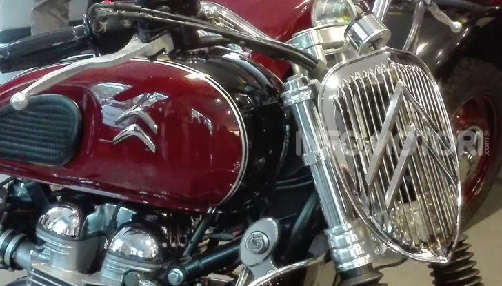 Charleston: la moto per i 70 anni della Citroen 2CV - Foto 26 di 36