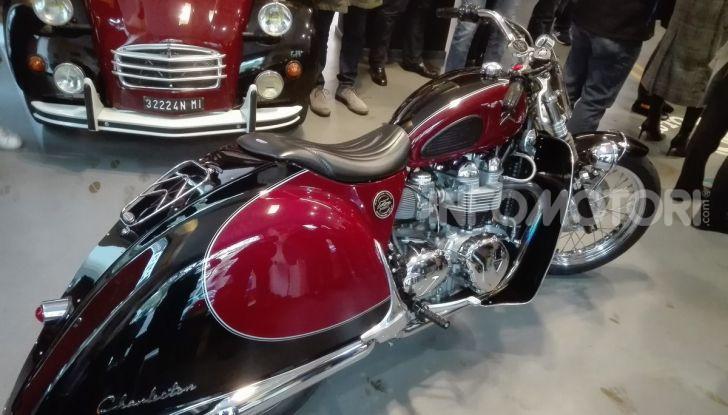 Charleston: la moto per i 70 anni della Citroen 2CV - Foto 28 di 36