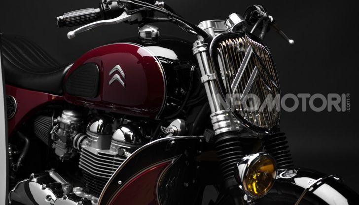 Charleston: la moto per i 70 anni della Citroen 2CV - Foto 10 di 36