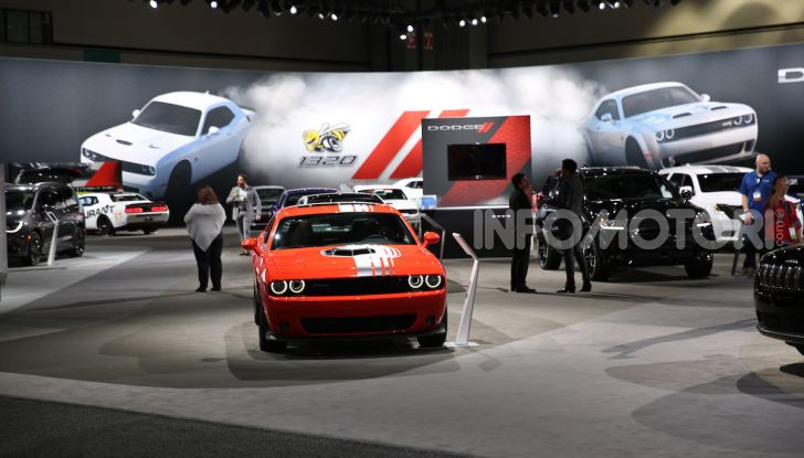 Dodge al Salone di Los Angeles 2018 – le foto LIVE dallo stand - Foto 7 di 24