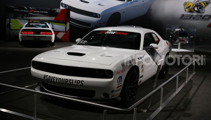 Dodge al Salone di Los Angeles 2018 – le foto LIVE dallo stand - Foto 11 di 24