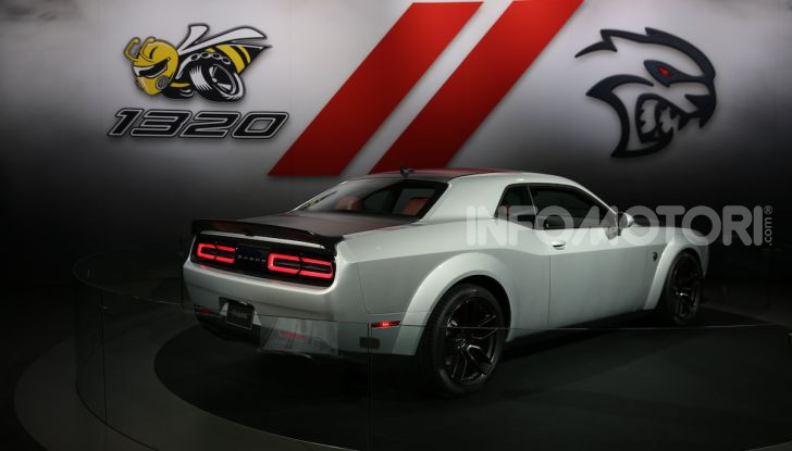 Dodge al Salone di Los Angeles 2018 – le foto LIVE dallo stand - Foto 12 di 24