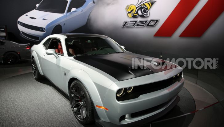 Dodge al Salone di Los Angeles 2018 – le foto LIVE dallo stand - Foto 14 di 24