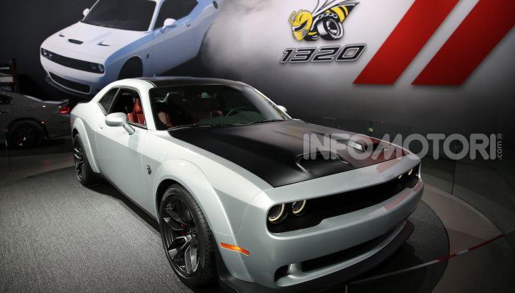 Dodge al Salone di Los Angeles 2018 – le foto LIVE dallo stand - Foto 14 di 24