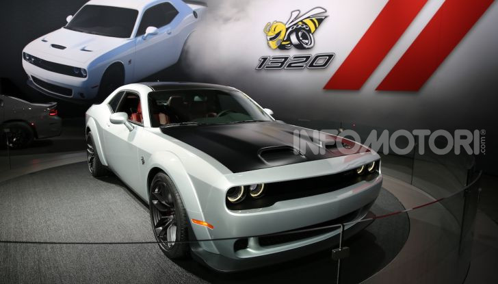 Dodge al Salone di Los Angeles 2018 – le foto LIVE dallo stand - Foto 15 di 24