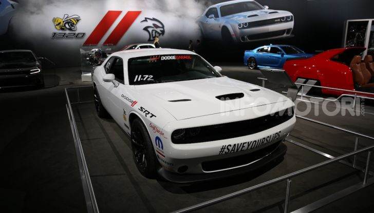 Dodge al Salone di Los Angeles 2018 – le foto LIVE dallo stand - Foto 20 di 24