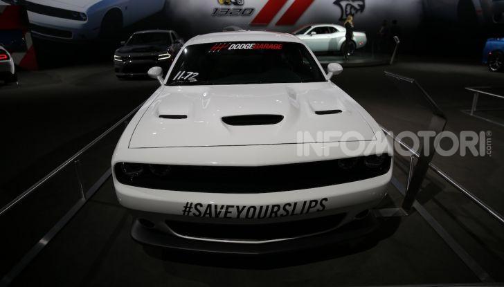 Dodge al Salone di Los Angeles 2018 – le foto LIVE dallo stand - Foto 22 di 24