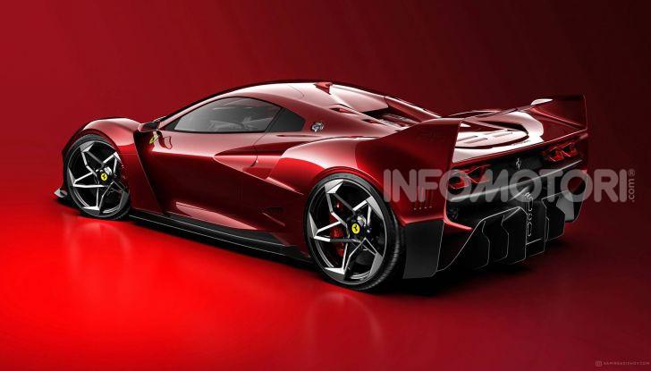 Ferrari F40 Tribute, omaggio all'icona di Maranello - Foto 12 di 16