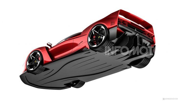 Ferrari F40 Tribute, omaggio all'icona di Maranello - Foto 5 di 16
