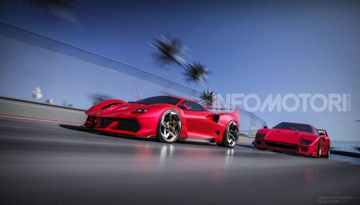Ferrari F40 Tribute, omaggio all'icona di Maranello - Foto 7 di 16