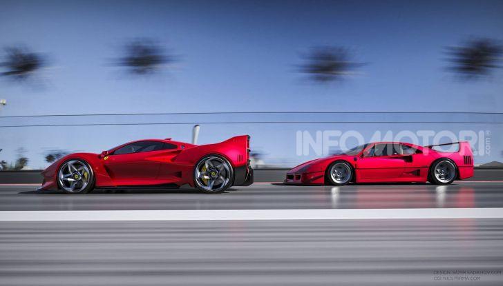 Ferrari F40 Tribute, omaggio all'icona di Maranello - Foto 8 di 16