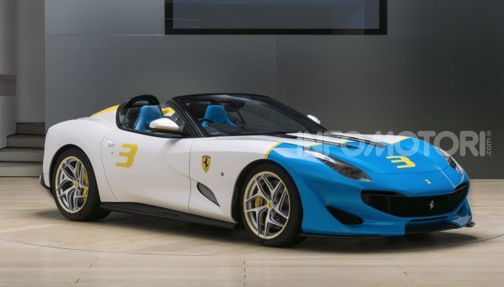 Ferrari SP3JC, la nuova roadster one-off - Foto 5 di 5