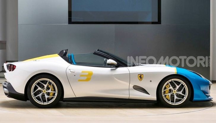 Ferrari SP3JC, la nuova roadster one-off - Foto 3 di 5