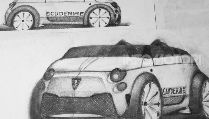Fiat 500e Barchetta by Scuderia-E - Foto 3 di 7