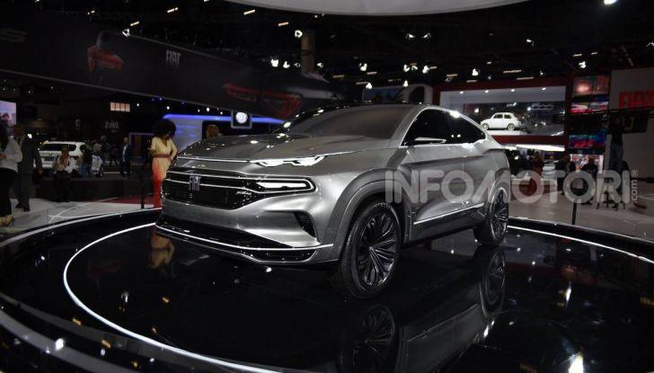Il nuovo Crossover Fiat: un SUV su base Tipo per il 2021 - Foto 9 di 12