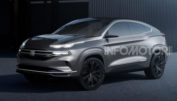 Il nuovo Crossover Fiat: un SUV su base Tipo per il 2021 - Foto 6 di 12