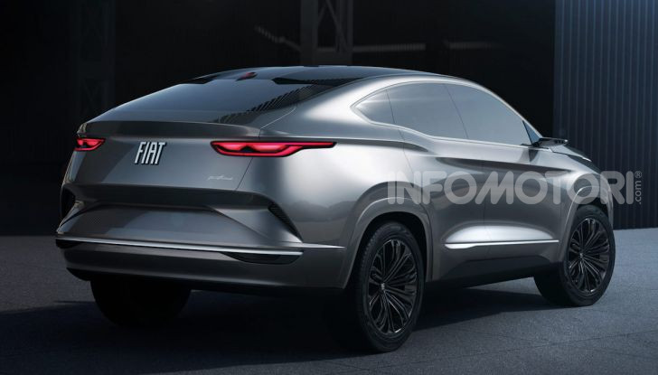 Il nuovo Crossover Fiat: un SUV su base Tipo per il 2021 - Foto 3 di 12