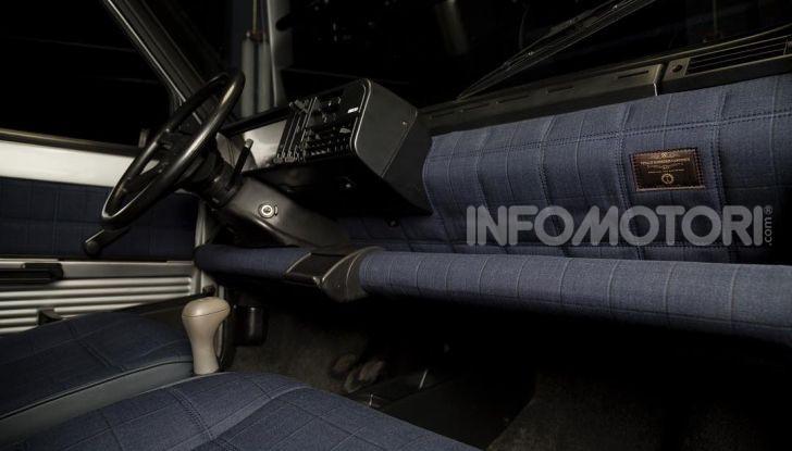 Fiat Panda 4×4 di Gianni Agnelli restaurata da Garage Italia Customs - Foto 10 di 10