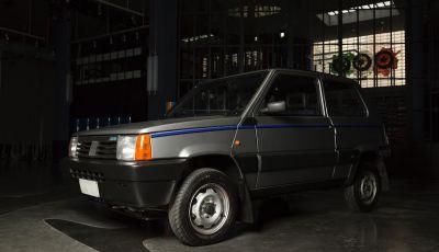 Fiat Panda 4×4 di Gianni Agnelli restaurata da Garage Italia Customs