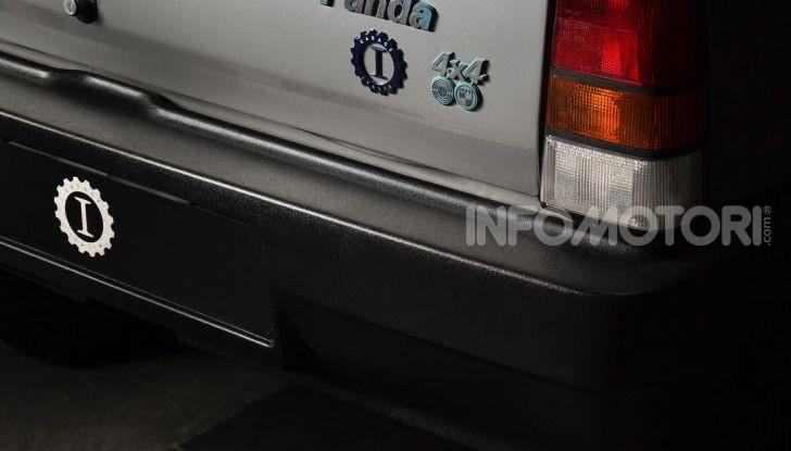 Fiat Panda 4×4 di Gianni Agnelli restaurata da Garage Italia Customs - Foto 8 di 10