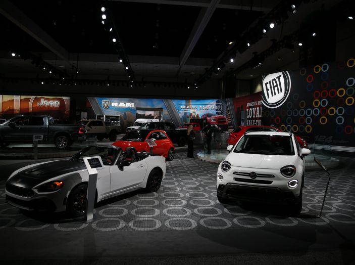 Le foto più belle dagli stand FIAT al Salone di Los Angeles 2018