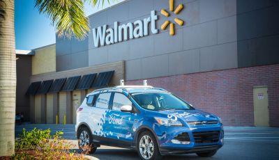 Ford, Walmart e Postmates: veicoli a guida autonoma per le consegne a domicilio
