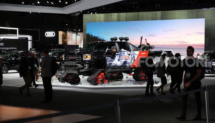 GMC al Los Angeles Auto Show 2018 – Le foto LIVE dal Salone - Foto 20 di 37