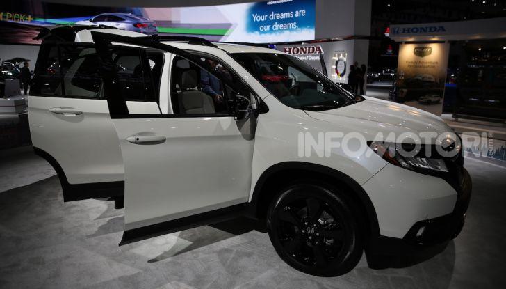 Honda al Salone di Los Angeles 2018: Tutte le novità in un'ampia gallery - Foto 19 di 25