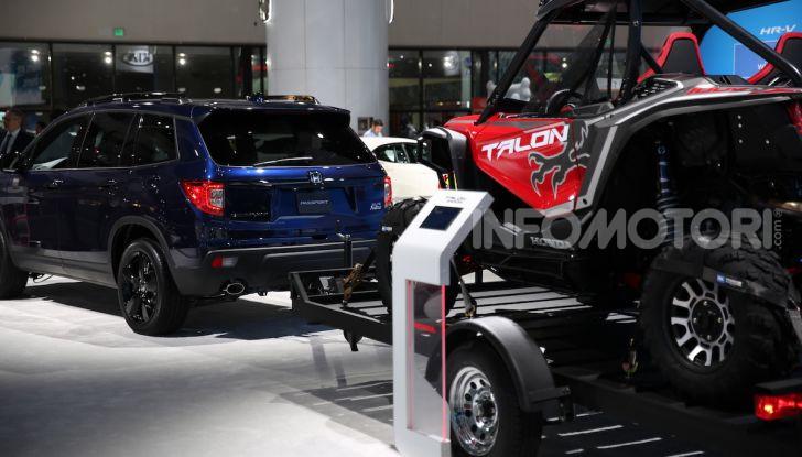 Honda al Salone di Los Angeles 2018: Tutte le novità in un'ampia gallery - Foto 25 di 25