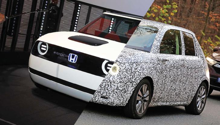 Honda Urban EV 2020, la citycar elettrica alla portata di tutti - Foto 1 di 31
