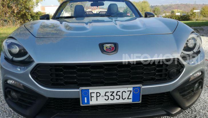 Abarth 124 GT prova su strada, prestazioni e dati tecnici - Foto 11 di 11