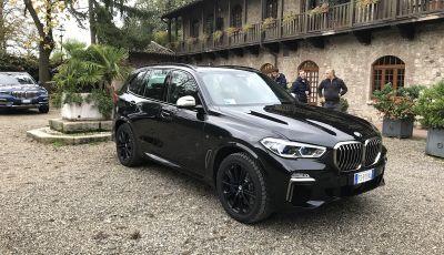 Nuova BMW X5, prova su strada della quarta generazione