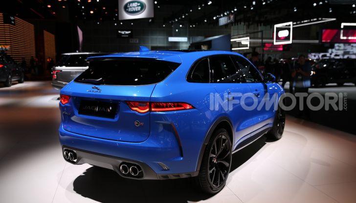 Jaguar Land Rover protagonista al Salone di Los Angeles 2018 - Foto 14 di 16