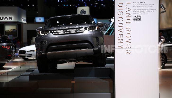 Jaguar Land Rover protagonista al Salone di Los Angeles 2018 - Foto 9 di 16