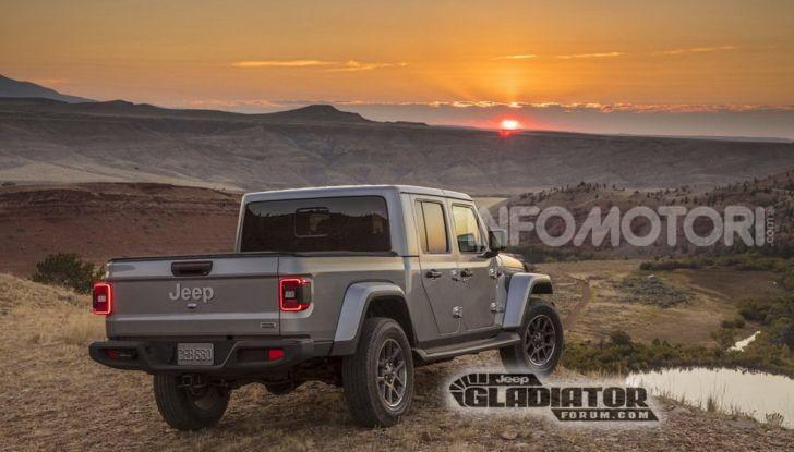Jeep Gladiator, il primo pick-up di FCA presentato al Salone di Los Angeles - Foto 12 di 15