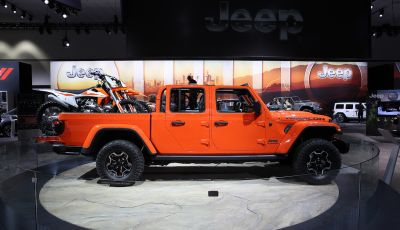 Jeep Gladiator in mostra al Camp Jeep 2019