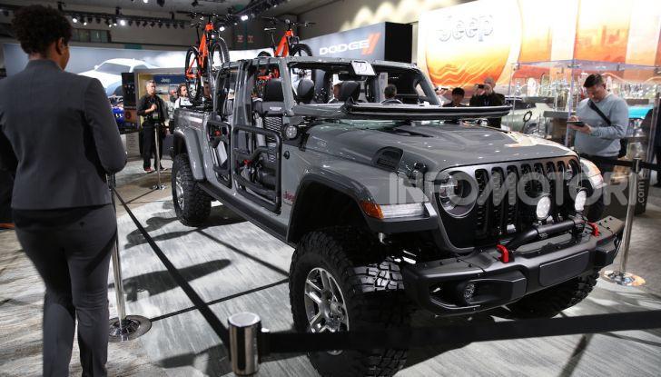 Tutto il meglio dello stand Jeep al Salone di Los Angeles 2018 - Foto 23 di 31