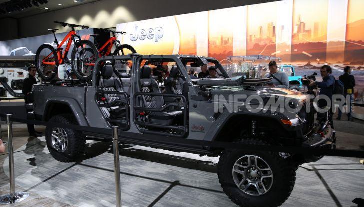 Tutto il meglio dello stand Jeep al Salone di Los Angeles 2018 - Foto 24 di 31