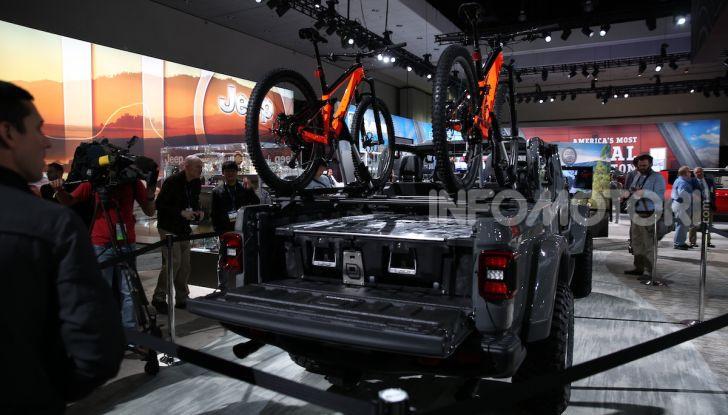 Tutto il meglio dello stand Jeep al Salone di Los Angeles 2018 - Foto 25 di 31