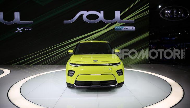 Kia Soul 100% elettrica 2019: la crossover ecologica si evolve ancora - Foto 5 di 30