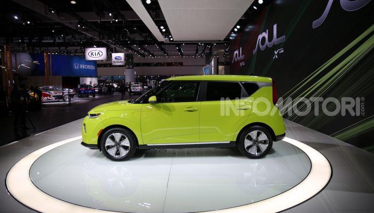 Kia Soul 100% elettrica 2019: la crossover ecologica si evolve ancora - Foto 3 di 30