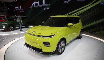 Kia Soul 100% elettrica 2019: la crossover ecologica si evolve ancora