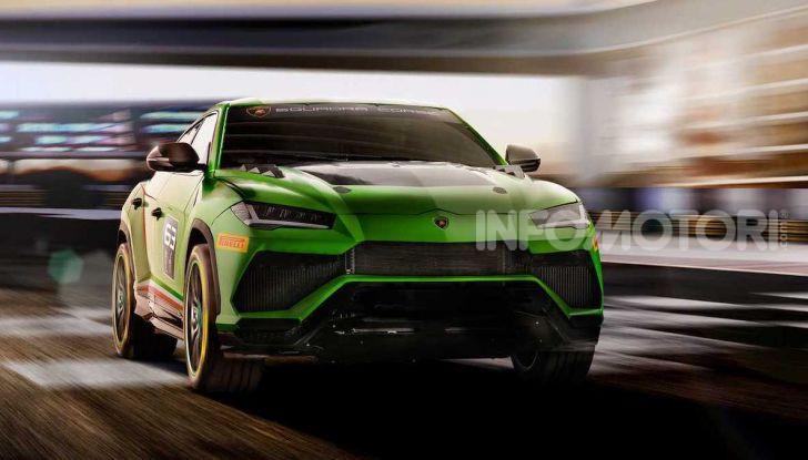 Lamborghini Urus ST-X Concept: il SUV da pista senza limiti - Foto 2 di 7