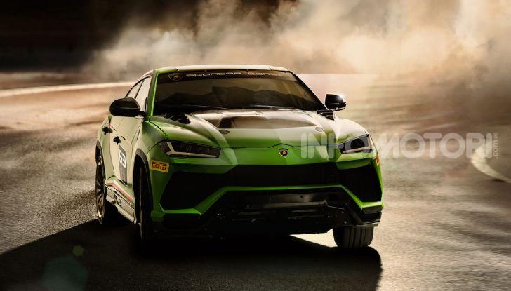 Lamborghini Urus ST-X Concept: il SUV da pista senza limiti - Foto 5 di 7